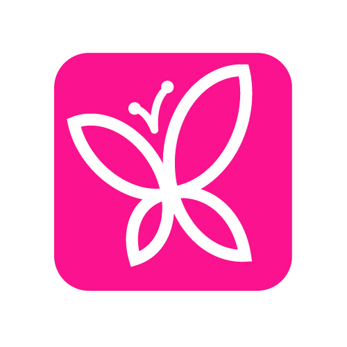 Glitter eyelashes MIX - C - 0,20 mm x 14 mm - 12 lines