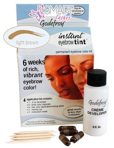 Barva na obočí - Světle hnědá - Godefroy | SmartLashes.eu