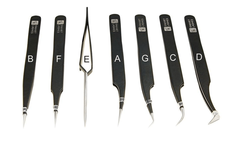 Tweezers - Eyelash Extension