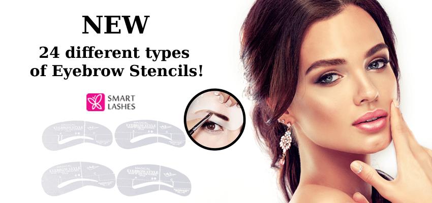 Eyebrow Stencils